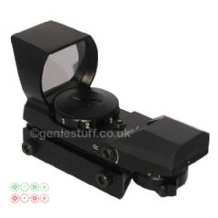 Electric Multi-Reticles Airsoft Sight (Red and Green Dots)